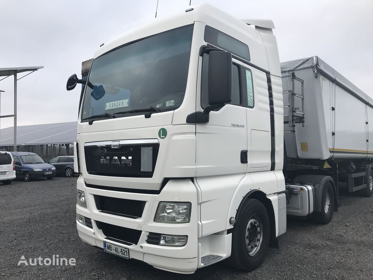 MAN TGX 18.440   dragbil