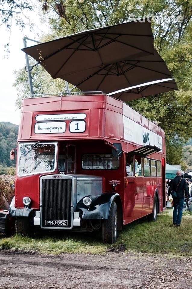 Leyland PD3 British Double Decker Bus Open Top Deck  Pub Bar Hospitality dubbeldäckarbuss