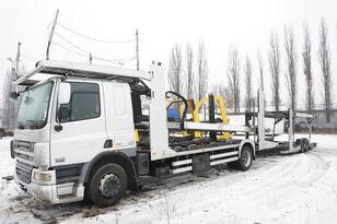 DAF CF 75 360 , E5 , 4x2 ,MEGA , LOHR , retarder , sleep cab  biltransport + biltransport trailer