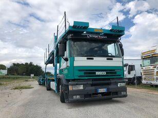 IVECO EUROTECH  bisarca veicoli + biga Rolfo biltransport