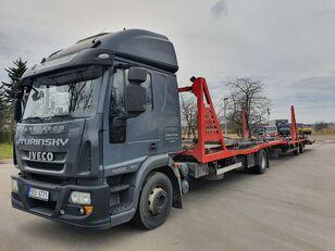 IVECO Eurocargo 140E28 biltransport + biltransport trailer