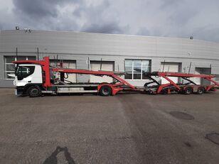 IVECO Stralis  biltransport + biltransport trailer
