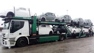 IVECO STRALIS 450 biltransport + biltransport trailer