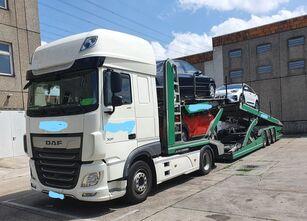 LOHR Eurolohr 3.53W xs-B2 biltransport + biltransport trailer