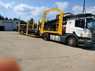 SCANIA Eurolohr biltransport + biltransport trailer