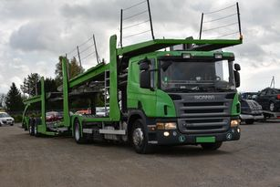 SCANIA P 380 biltransport + biltransport trailer
