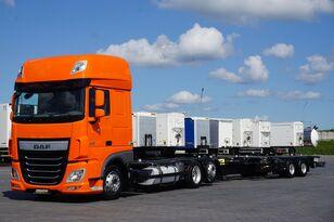 DAF / 106 / 460 / SSC / ACC / EURO 6 / ZESTAW BDF / 2 X 7,8 M chassi lastbil + chassi trailer