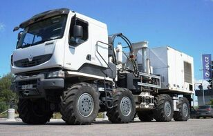 THOMAS CONSTRUCTEURS [Other] 8x8 THOMAS Low speed truck with hydraulic drive! chassi lastbil