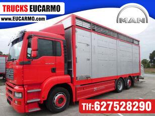 MAN TGA 26 350 djurtransport
