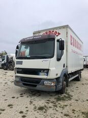 DAF motrice 2 assi furgone sponda försäljningsbil