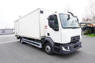 RENAULT D12 , E6 , 4x2 , Box 18 EPAL side door  , tail lift Dhollandia , isotermiska lastbil