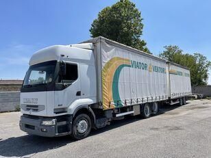 RENAULT Premium 420 kapellbil + trailer med gardinkapell
