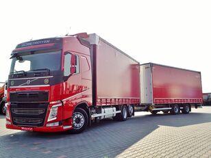 VOLVO FH 460  / JUMBO 120 M3 / VEHICULAR / ACC / I-COOL kapellbil + trailer med gardinkapell