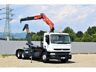 RENAULT Kerax 370  lastväxlare lastbil
