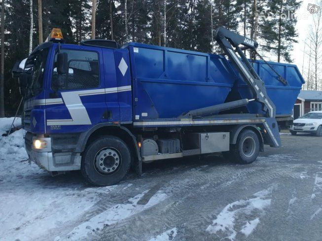 DAF CF 75  and  containers  liftdumper lastbil