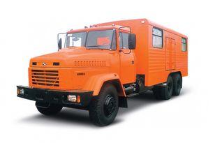 ny KRAZ 65053 мастерская  militärlastbil