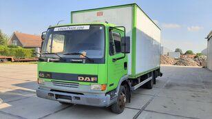 DAF 45.130 Ti 6 Cylinders Euro 2 Spring-Spring skåplastbil