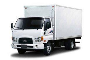 ny HYUNDAI HD78 промтоварный фургон skåplastbil
