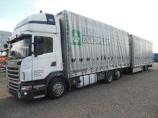 SCANIA G440 tilt lastbil + tilt trailer
