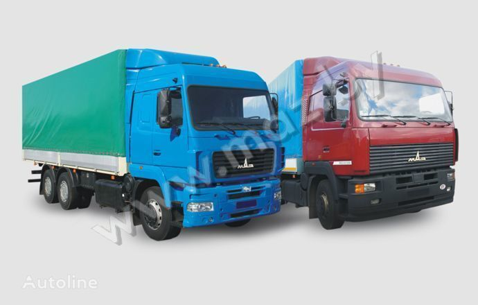 ny MAZ 6312 (A5, A8, A9) tilt lastbil