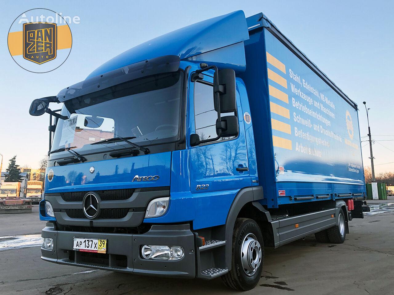 MERCEDES-BENZ ATEGO 822L, 38m3 tilt lastbil