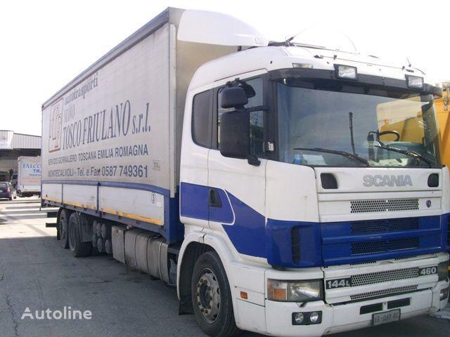 SCANIA 144L460 tilt lastbil
