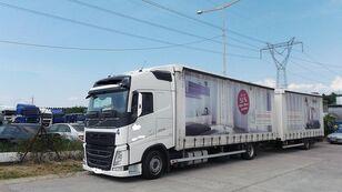 VOLVO fh 420 EURO 6 tilt lastbil + tilt trailer
