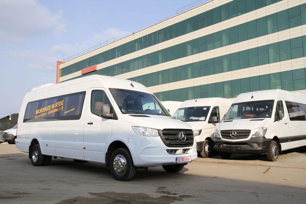ny MERCEDES-BENZ Idilis 19+1+1 *COC* passagerare minibuss