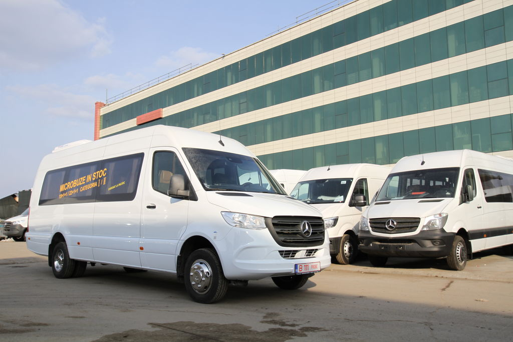 ny MERCEDES-BENZ Idilis 519 19+1+1 *COC* Ready for delivery passagerare minibuss