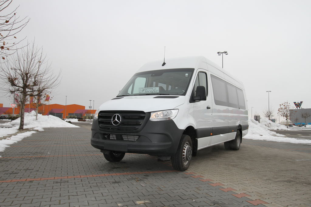 ny MERCEDES-BENZ Sprinter 516,  *COC*  prolonged with 50cm fiber/steel, STOCK passagerare minibuss