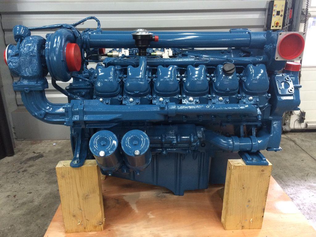 ny MAN D2842LE103 motor till containerkran