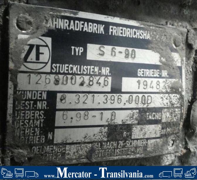 ZF S 6 - 90 växellåda till SETRA S 215 RL ,S 215 H buss