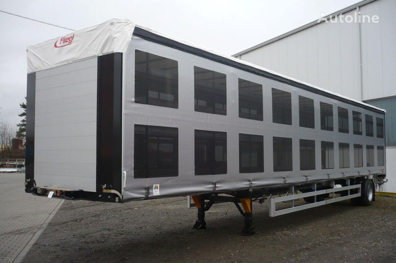 ny FLIEGL SDS 350 pticevoz fjäderfätransport semitrailer