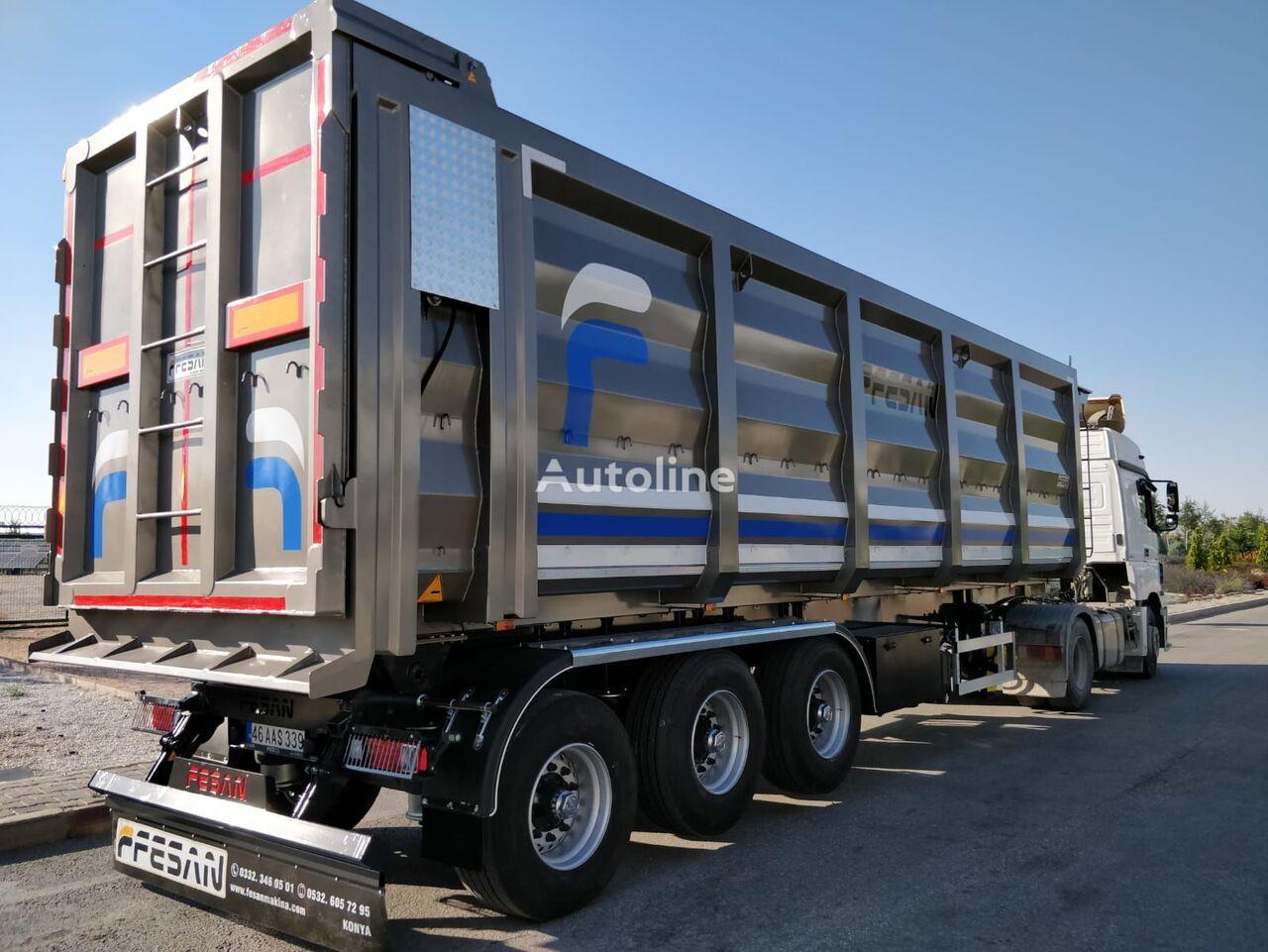 ny FESAN tippvagn semitrailer