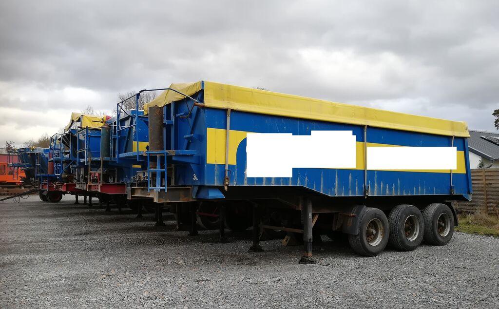 LANGENDORF SKA 24/28 Thermo Stahl/Stahl tippvagn semitrailer