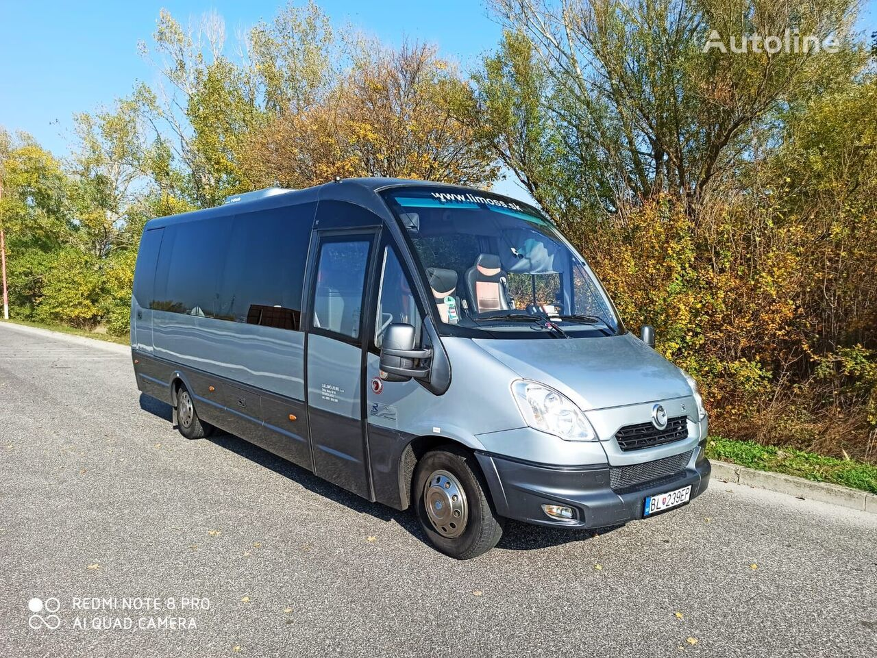 IVECO FIRST 1+1+27 sightseeingbuss