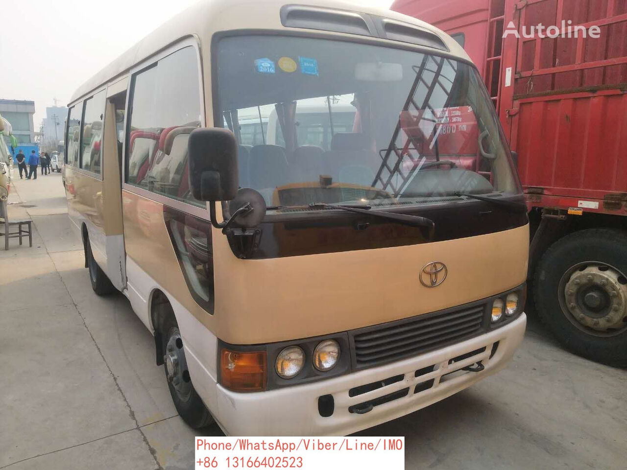TOYOTA Coster stadsbuss