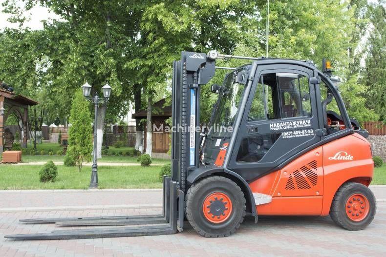 LINDE H45T gaffeltruckar till salu från Ukraina, köpa gaffeltruck, UU7983