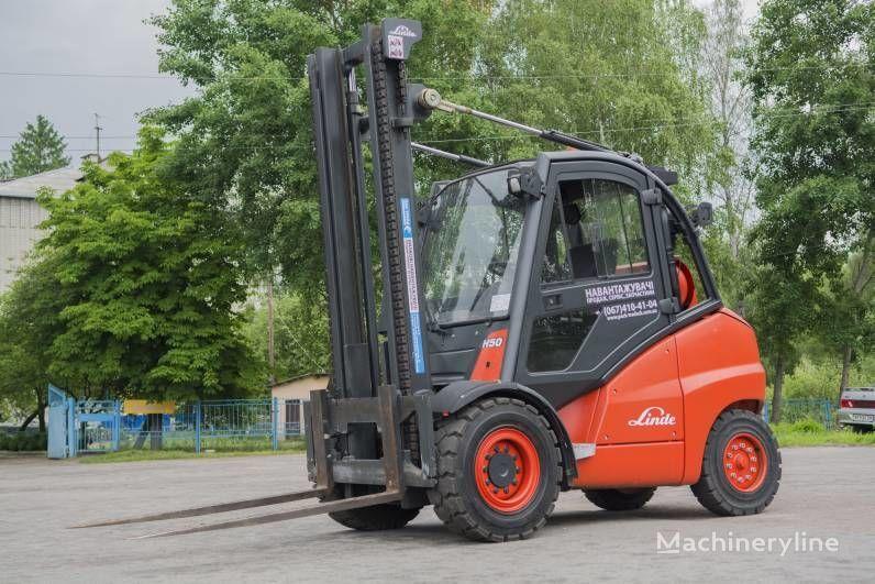 LINDE H50T gaffeltruckar till salu från Ukraina, köpa gaffeltruck, LX9445